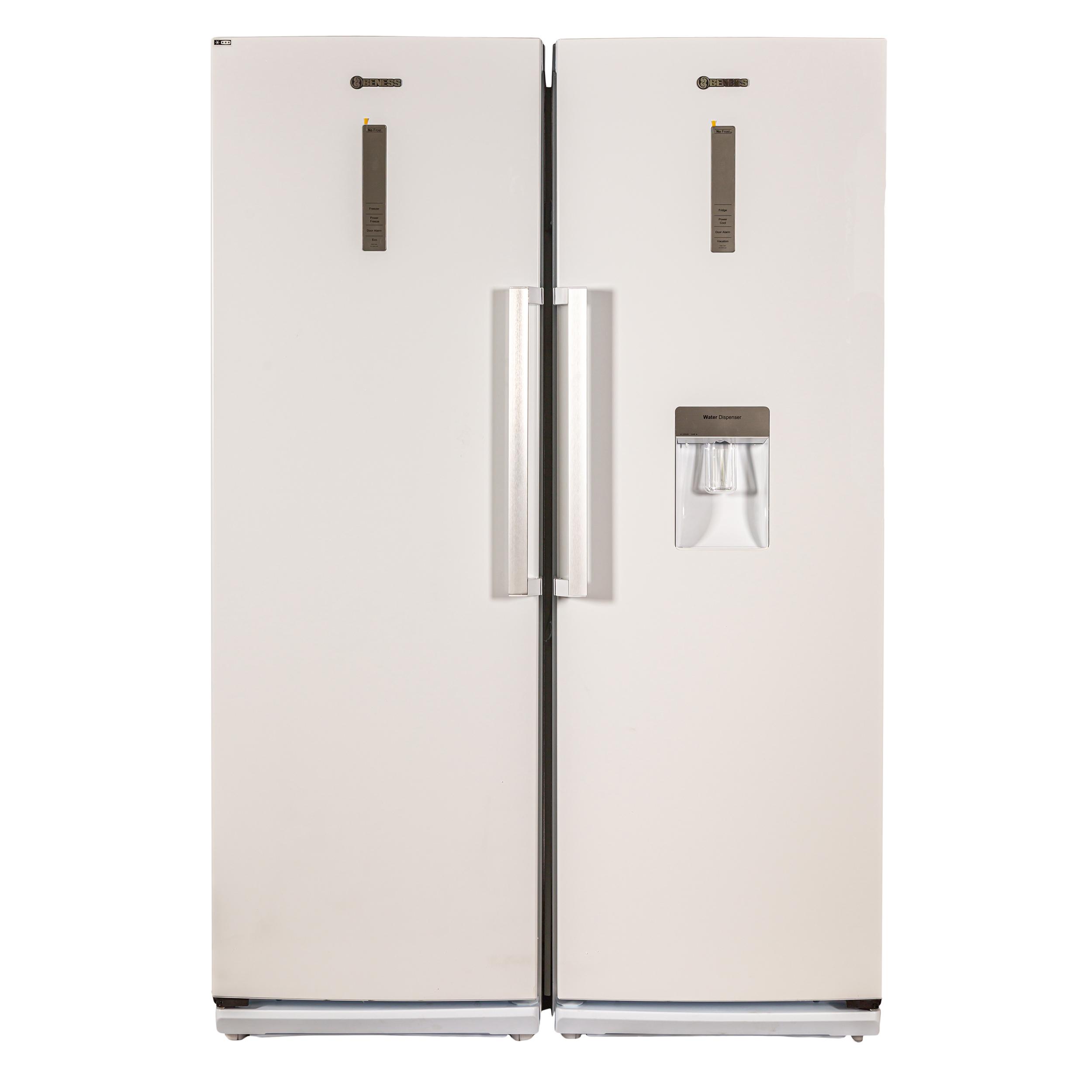 راهنمای خرید یخچال و فریزر دوقلو بنس مدل D4i لیست قیمت