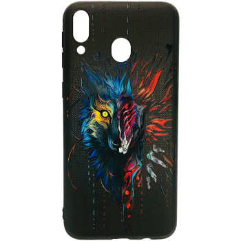 کاور طرح Wolf کد 0753 مناسب برای گوشی موبایل سامسونگ Galaxy M20