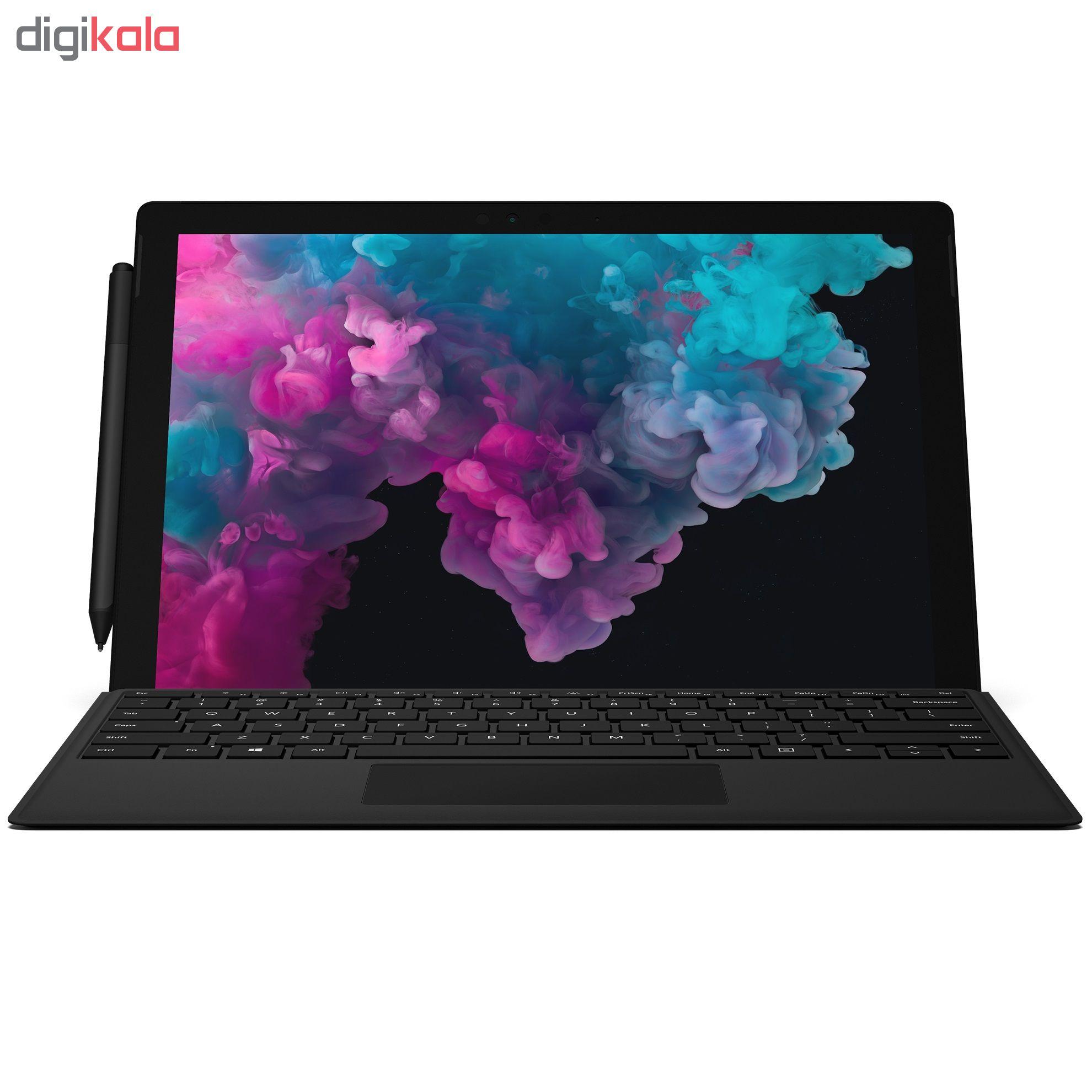 تبلت مایکروسافت مدل Surface Pro 6 - B به همراه کیبورد Black Type Cover  و قلم main 1 4