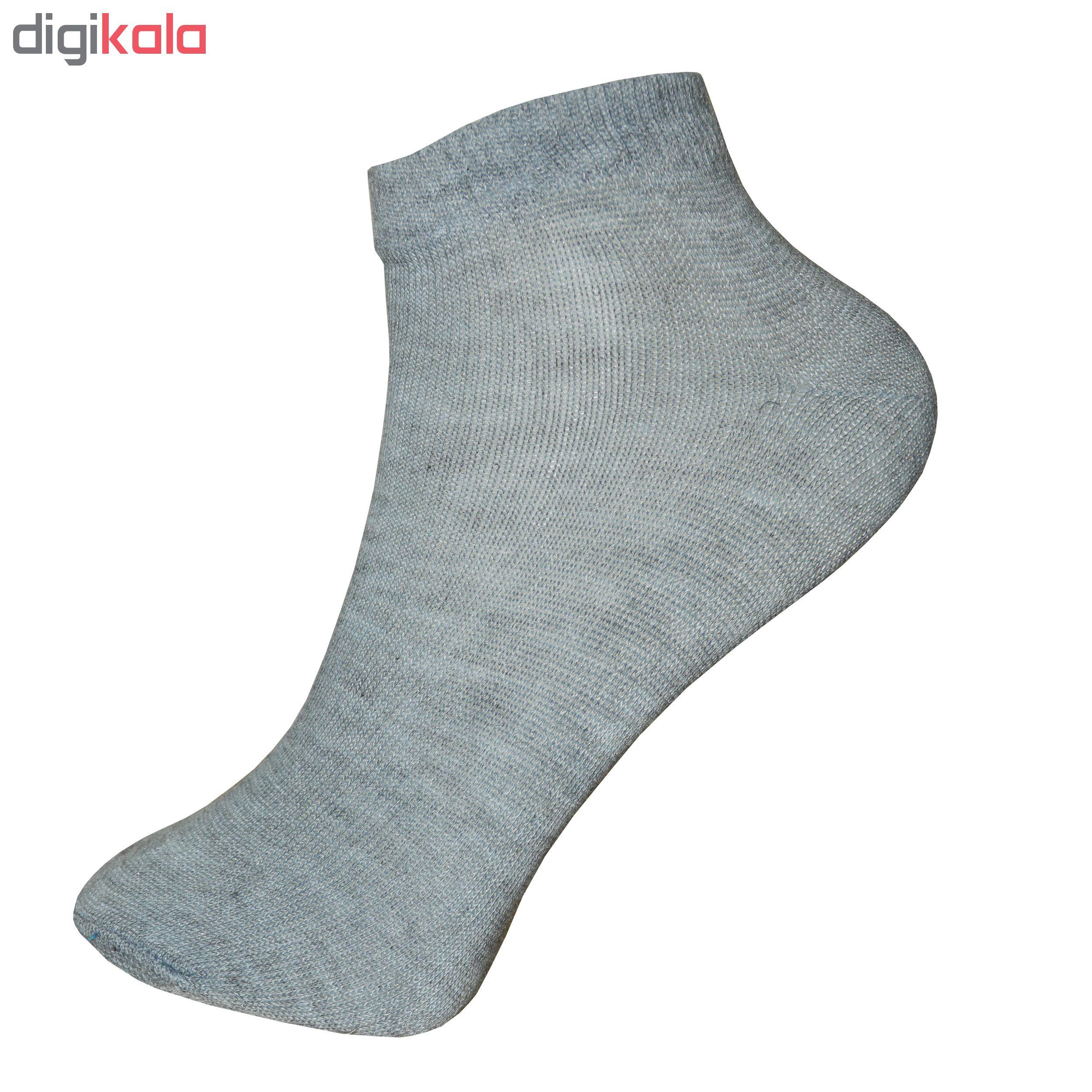 جوراب مردانه پرشیکا کد 11 بسته 12 عددی