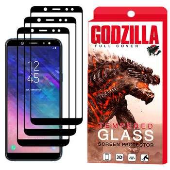 محافظ صفحه نمایش گودزیلا مدل GGF مناسب برای گوشی موبایل سامسونگ Galaxy A6 بسته 3 عددی