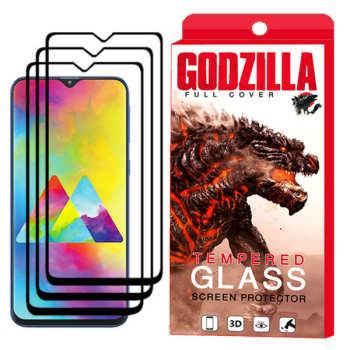 محافظ صفحه نمایش گودزیلا مدل GGF مناسب برای گوشی موبایل سامسونگ Galaxy M20 بسته 3 عددی