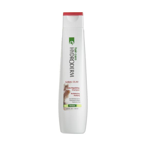 شامپو کنترل کننده چربی مو و پوست سر هیدرودرم مدل Sabal Clay حجم 250 میلی لیتر