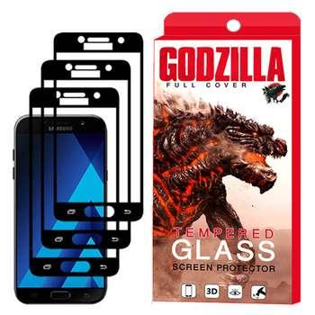 محافظ صفحه نمایش گودزیلا مدل GGF مناسب برای گوشی موبایل سامسونگ Galaxy A7 2017 / A720 بسته 3 عددی
