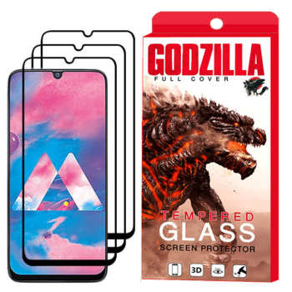 محافظ صفحه نمایش گودزیلا مدل GGF مناسب برای گوشی موبایل سامسونگ Galaxy A50 بسته 3 عددی