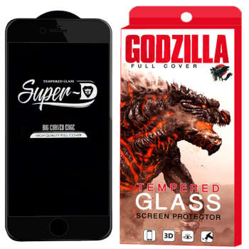 محافظ صفحه نمایش گودزیلا مدل Super D مناسب برای گوشی موبایل اپل iPhone 8