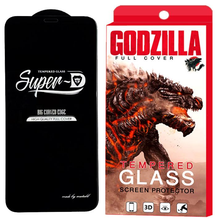 محافظ صفحه نمایش گودزیلا مدل Super D مناسب برای گوشی موبایل اپل iPhone XS