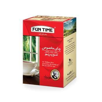 چای سیاه فان تایم مدل سوپریم وزن 450 گرم