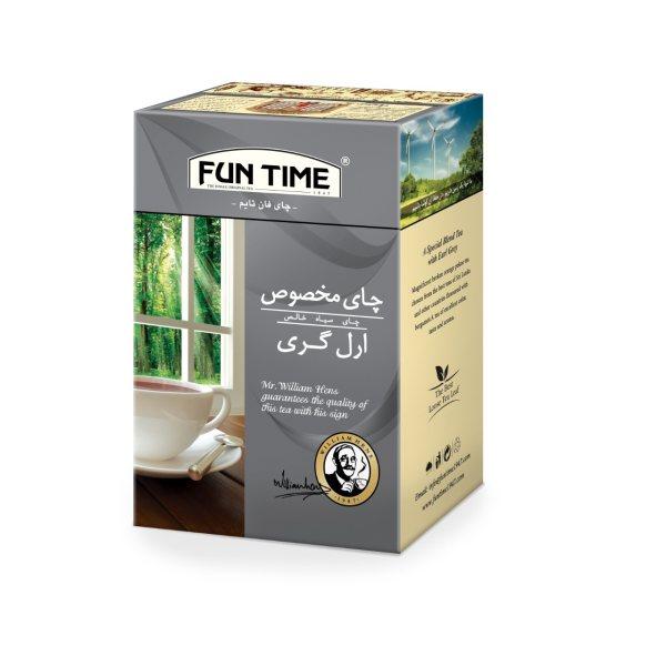 چای  فان تایم مدل ارل گری وزن 450 گرم