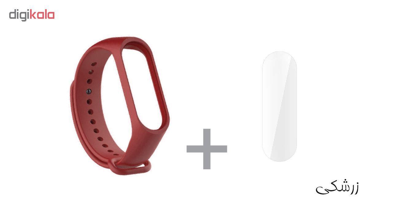 بند سومگ مدل SMG-K2 مناسب برای مچ بند هوشمند شیائومی Mi Band 4 به همراه محافظ صفحه نمایش main 1 21