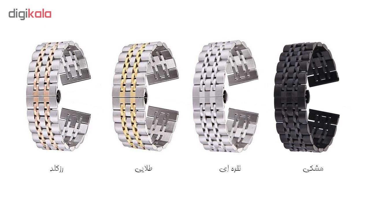 بند فلزی مدل Longines مناسب برای ساعت هوشمند Gear S3 main 1 2