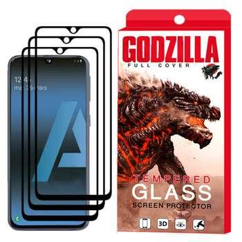 محافظ صفحه نمایش گودزیلا مدل GGF مناسب برای گوشی موبایل سامسونگ Galaxy A70 بسته 3 عددی