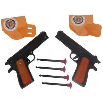 تفنگ بازی مدل C-21 بسته 2 عددی