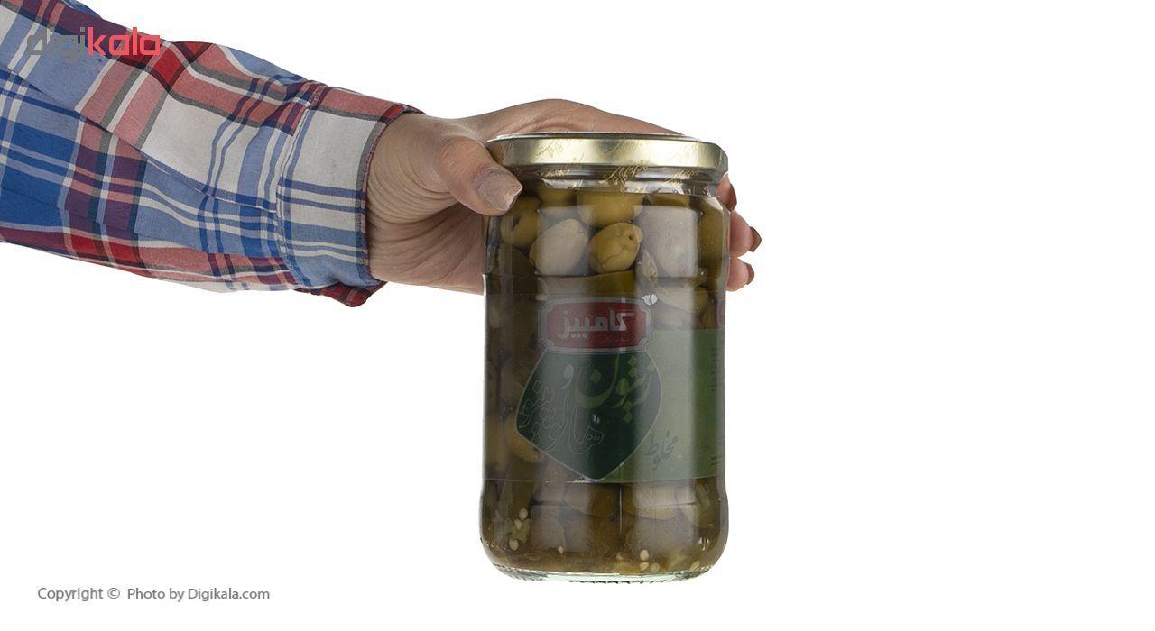 زیتون کامبیز با هالوپینو مقدار 640 گرم main 1 5