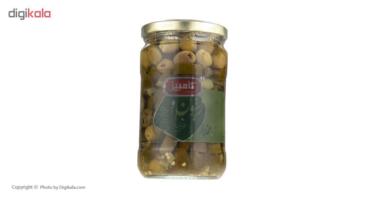 زیتون کامبیز با هالوپینو مقدار 640 گرم main 1 1