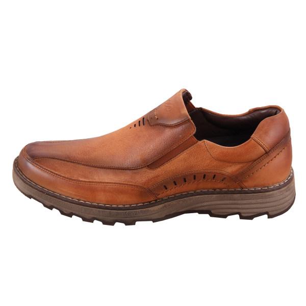 کفش روزمره مردانه شهر چرم مدل M9001-12