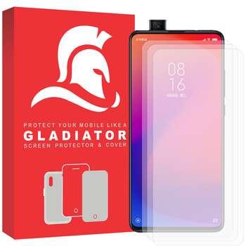 محافظ صفحه نمایش گلادیاتور مدل GLX3000 مناسب برای گوشی موبایل شیائومی Mi 9t بسته سه عددی