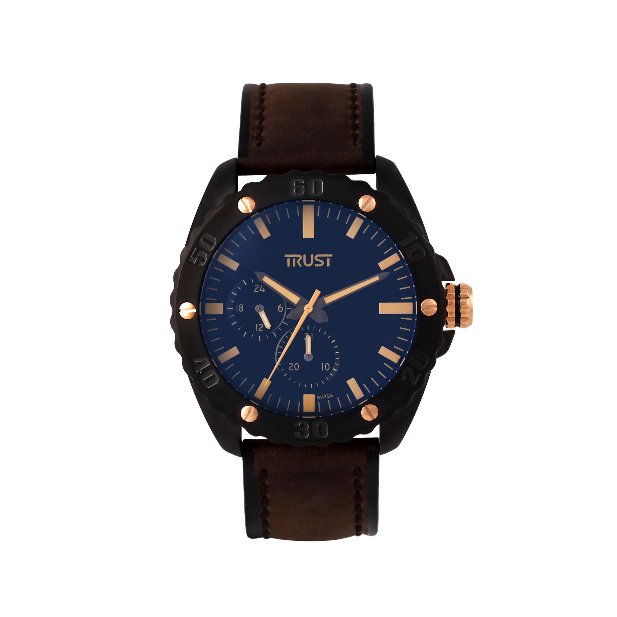 قیمت                      ساعت مچی عقربه ای مردانه تراست کد G494DUD