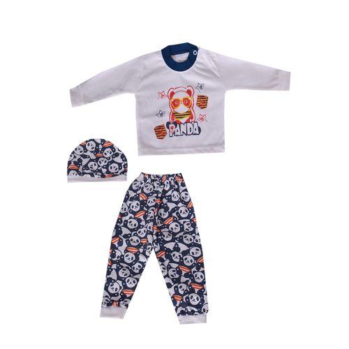ست 3 تکه لباس نوزادی کد 12-820