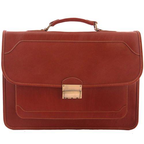 کیف اداری مردانه آدین چرم کد DL51