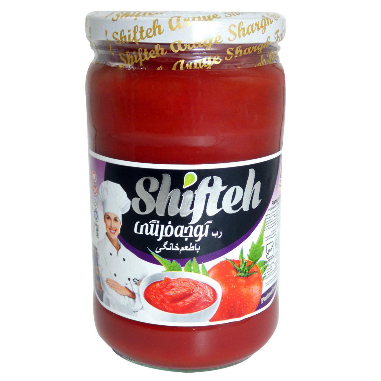 رب گوجه فرنگی شیفته مقدار 700 گرم