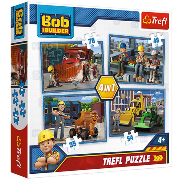 پازل 207 تکه ترفل مدل builder