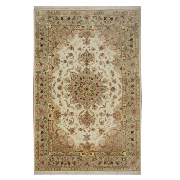 فرش دستبافت شش و نیم متری مدل تبریز کد 1105762 یک جفت