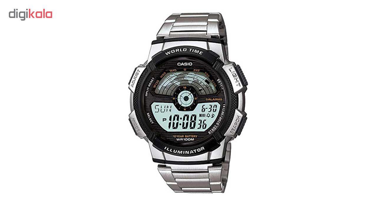 ساعت مچی دیجیتال کاسیو مدل AE-1100WD-1AVDF