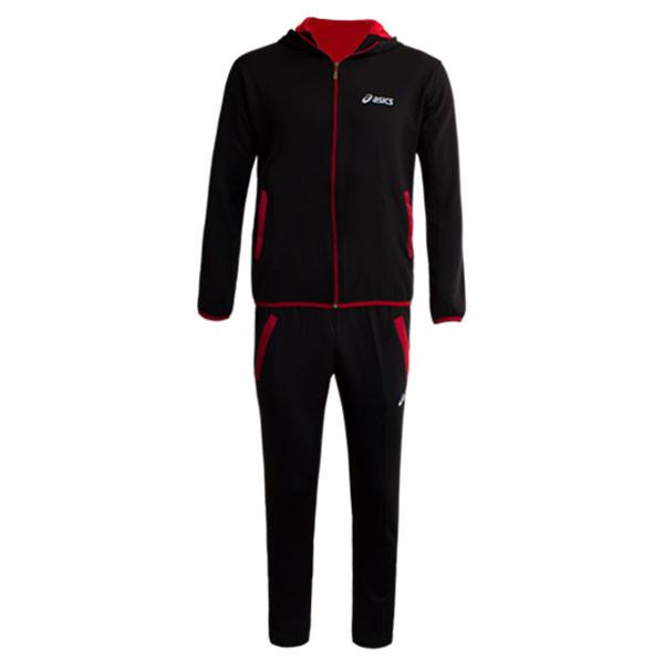 ست گرمکن و شلوار ورزشی مردانه مدل QW878 رنگ مشکی