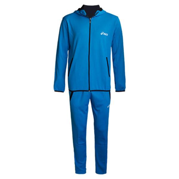 ست گرمکن و شلوار ورزشی مردانه مدل AEW رنگ آبی