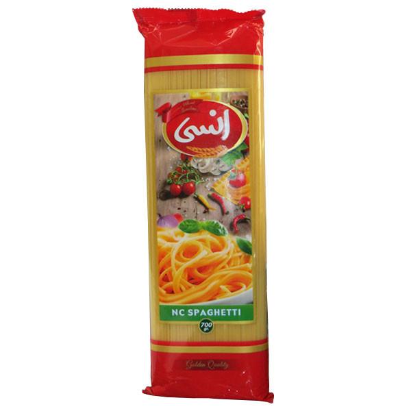 اسپاگتی انسی  مقدار 700 گرم قطر  1.2 میلی متر