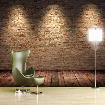 پوستر دیواری سه بعدی طرح آجر کد 85005817