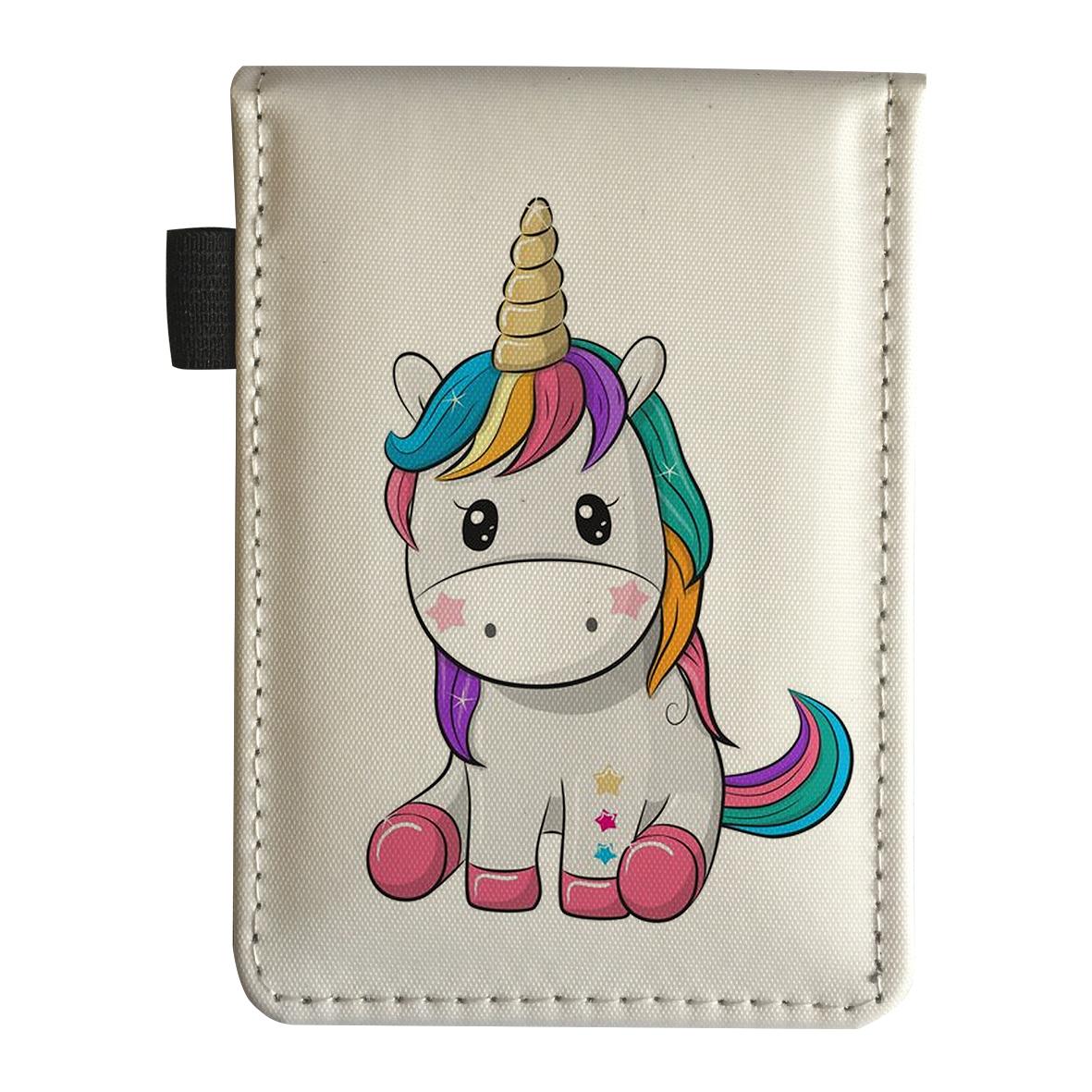 دفتر  یادداشت طرح اسب تک شاخ یونیکورن کد dy11