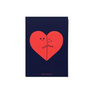 کارت پستال ماسا دیزاین طرح دوستی کد POST181
