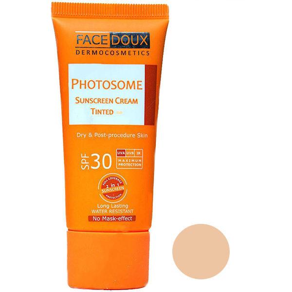 کرم ضد آفتاب فیس دوکس مدل photosome شماره 02 حجم 40 میلی لیتر