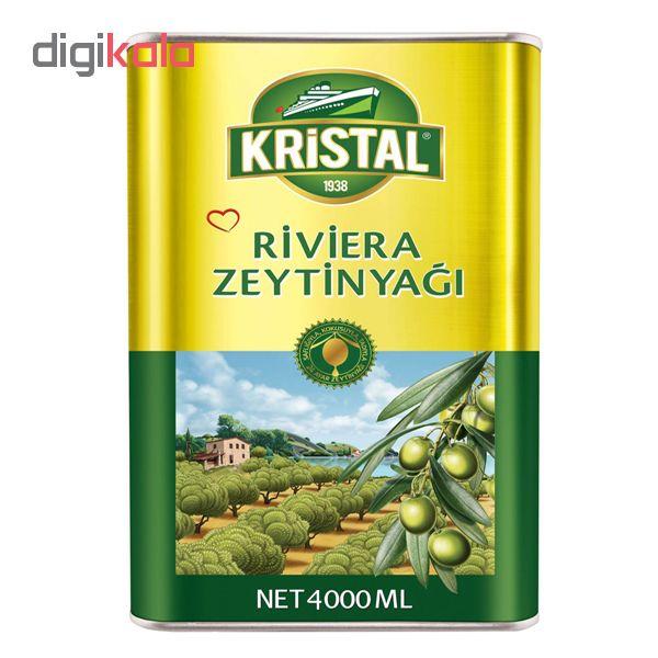 روغن زیتون کریستال طلایی - 4 کیلوگرم