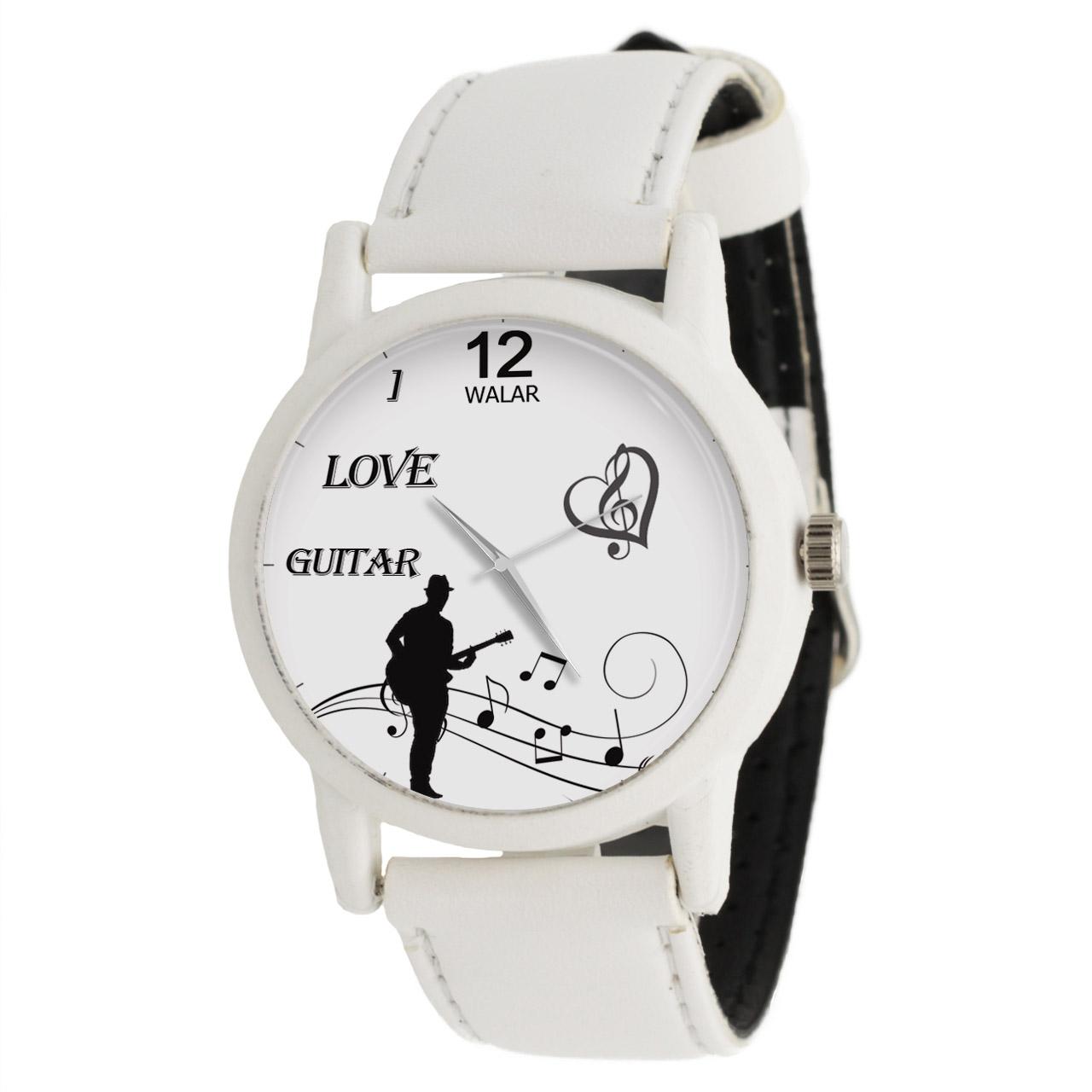 ساعت مچی عقربه ای والار طرح گیتار کد LF1653