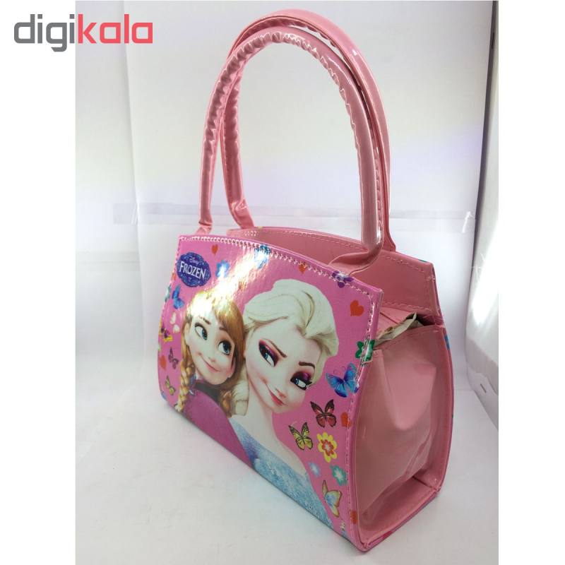 کیف دستی دخترانه طرح السا و آنا کد 03