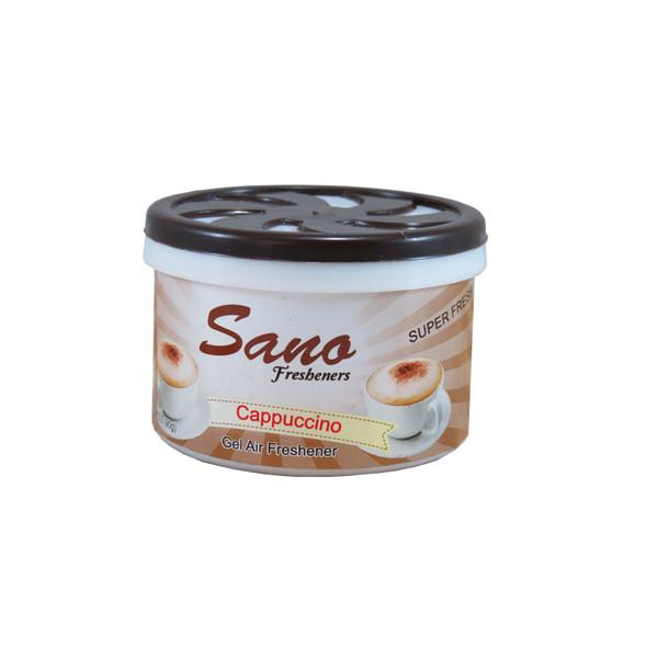 ژل خوشبو کننده هوا سانو مدل Cappuccino حجم 90 گرم