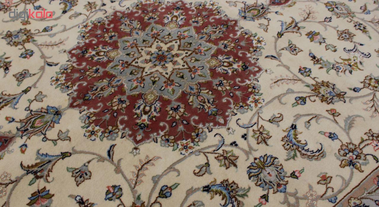 فرش دستبافت شش متری مدل کاشان کد 1105752 یک جفت