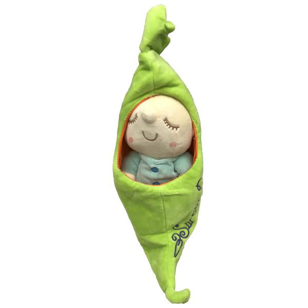 عروسک طرح نوزاد خواب کد 41 ارتفاع 25 سانتی متر