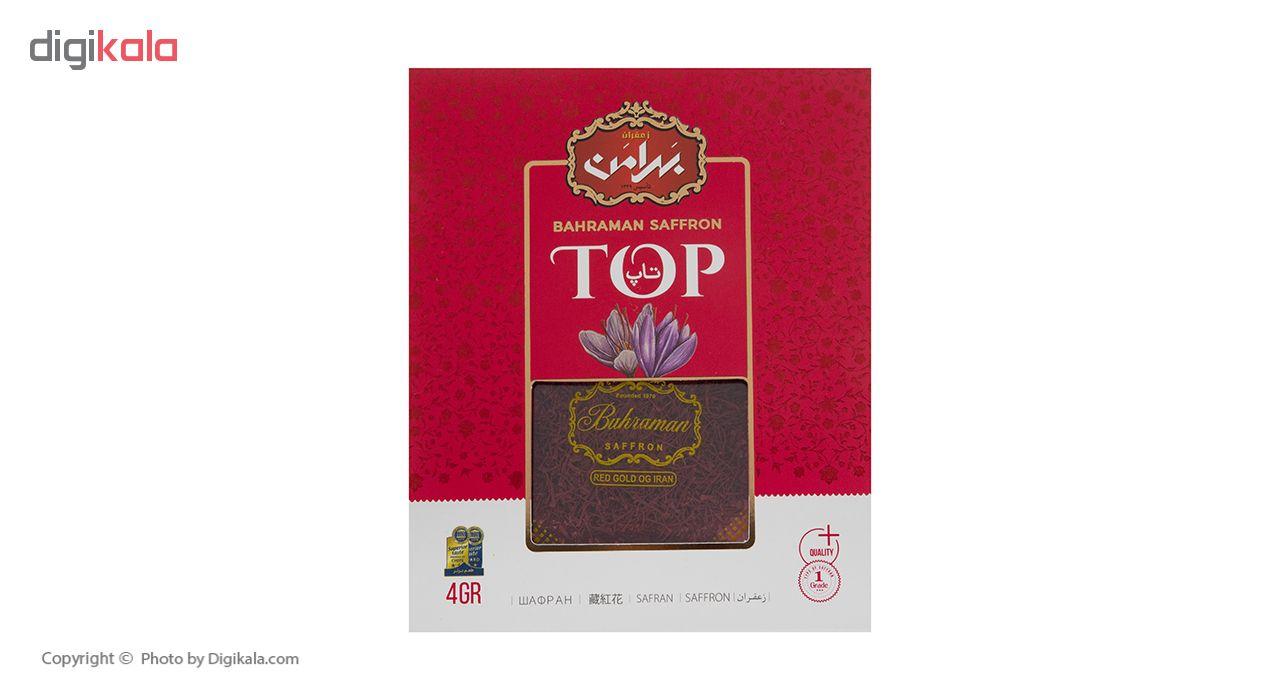 زعفران بهرامن سری تاپ مقدار 4 گرم
