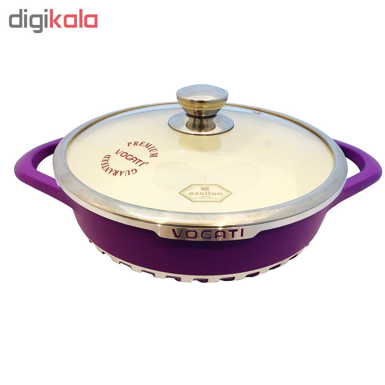سرویس پخت و پز 8 پارچه وگاتی کد 7042 مدل SES-3C