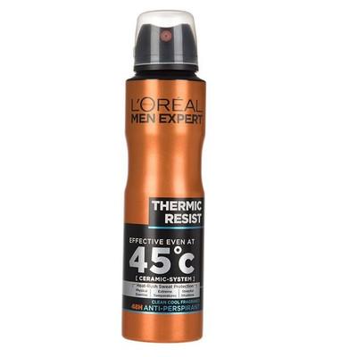 اسپری ضد تعریق مردانه لورآل سری Men Expert مدل Thermic Resist حجم 250 میلی لیتر