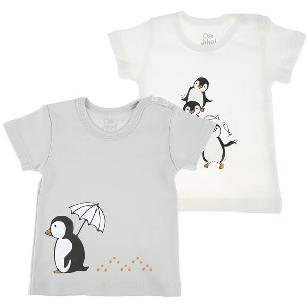 تی شرت نوزادی جیکل مدل JK902008-92 مجموعه 2 عددی