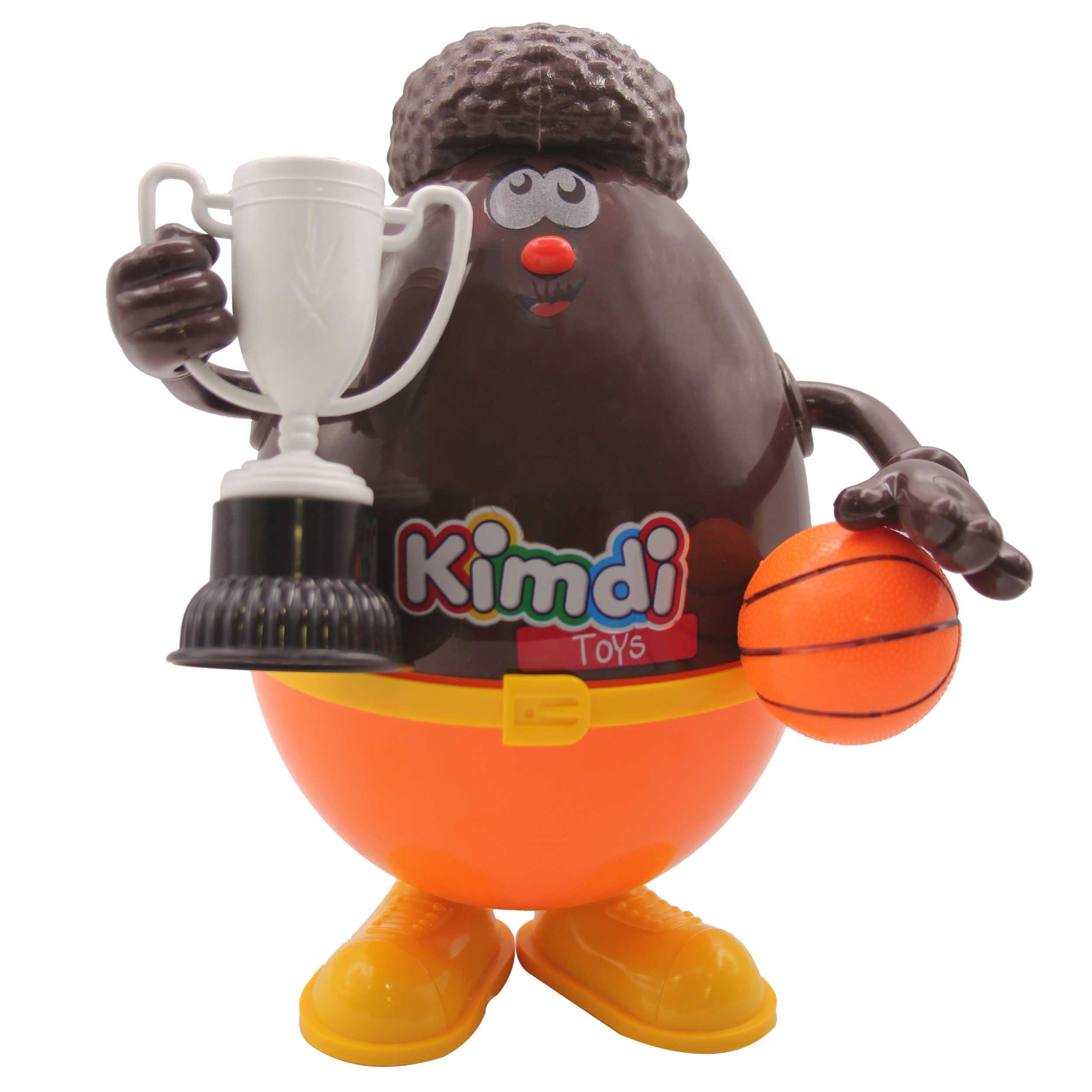اسباب بازی  شانسی کیمدی مدل بسکتبالیست سیاه پوست