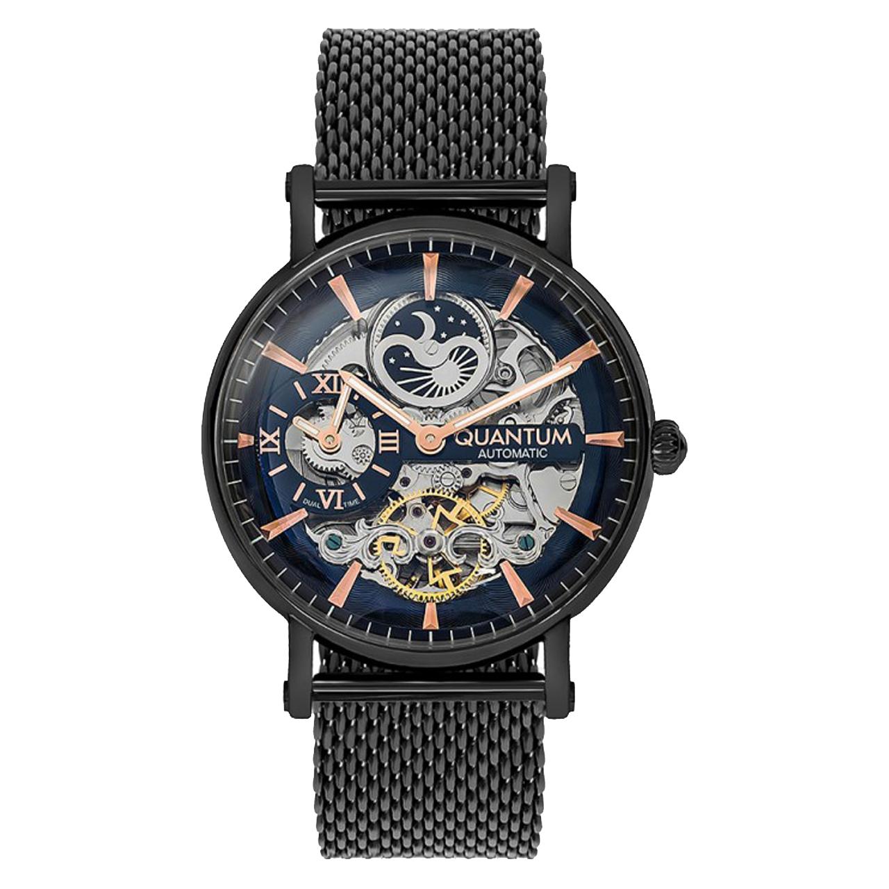 ساعت مچی عقربه ای مردانه کوانتوم مدل QMG619.090