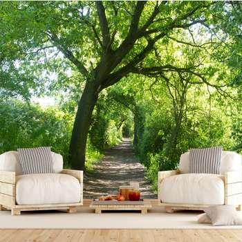 پوستر دیواری سه بعدی طرح جنگل کد ITT7