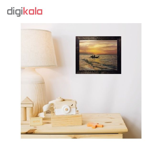 خرید                      تابلو نقاشی رنگ روغن طرح غروب کد 2082255