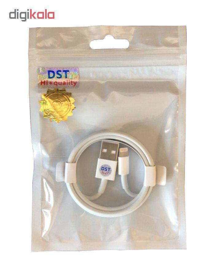 کابل تبدیل USB به لایتنینگ مدل E75 طول 1 متر main 1 3